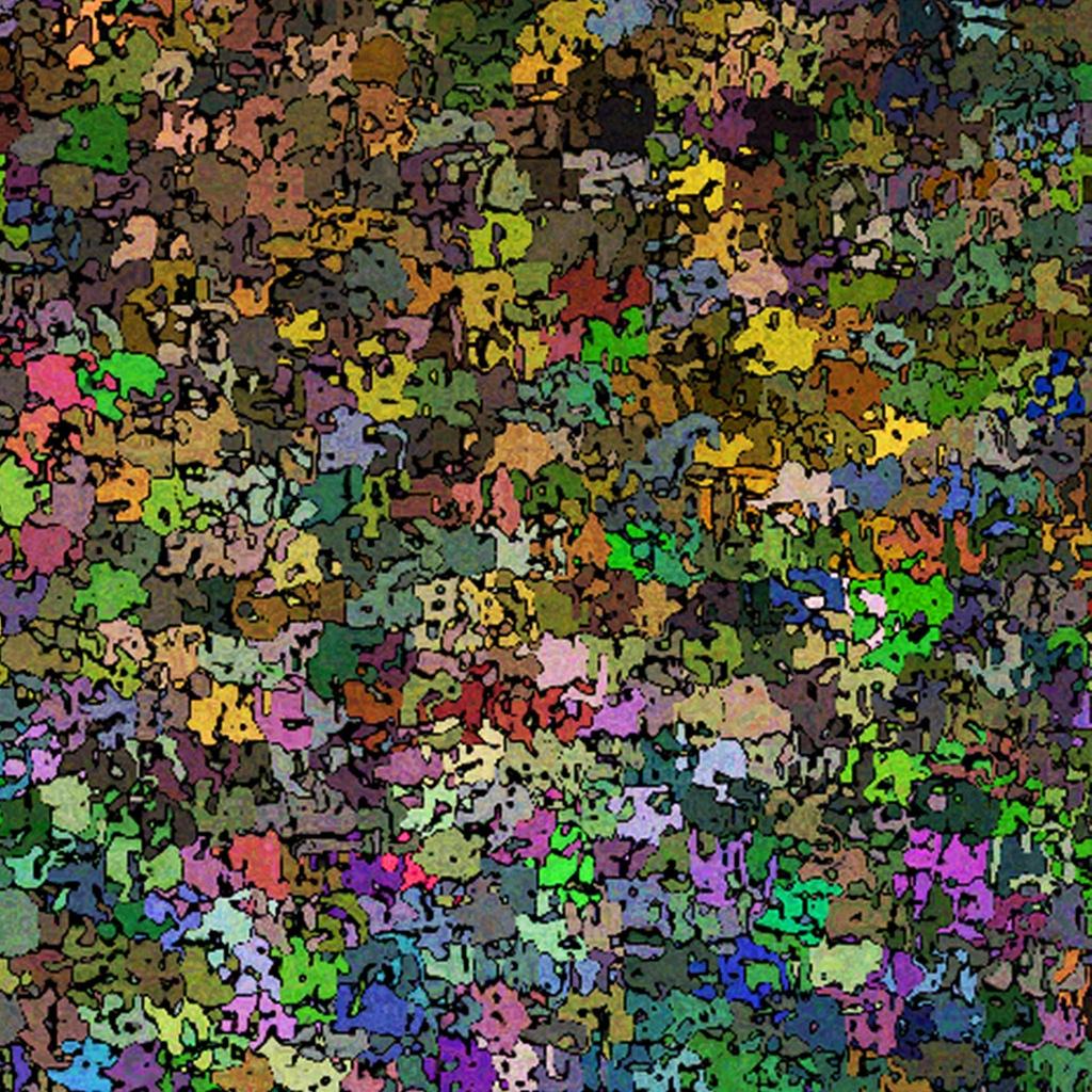 multi color confetti